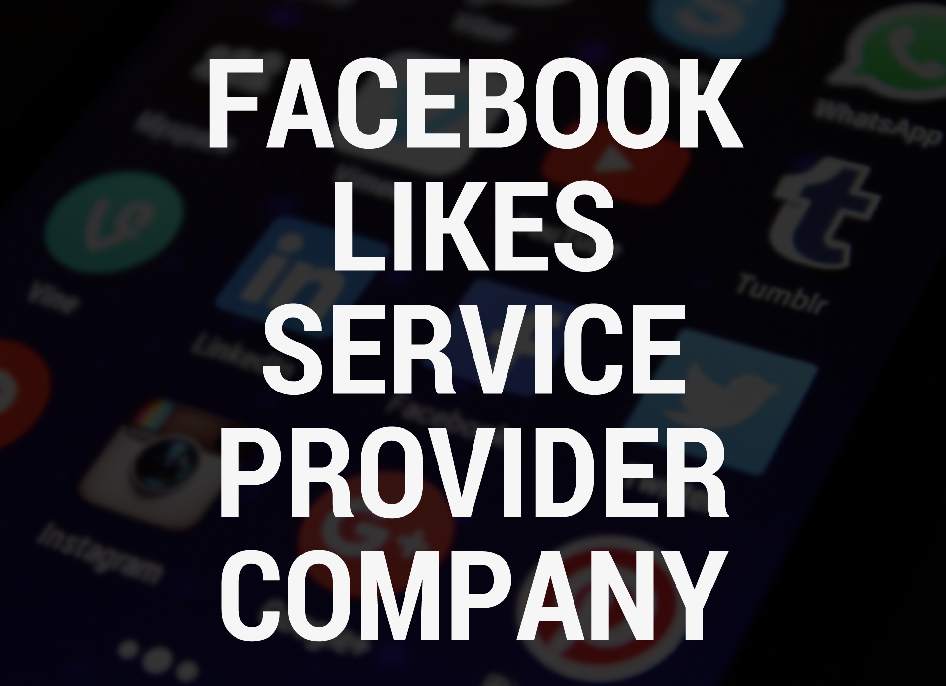 Facebook Likes Service