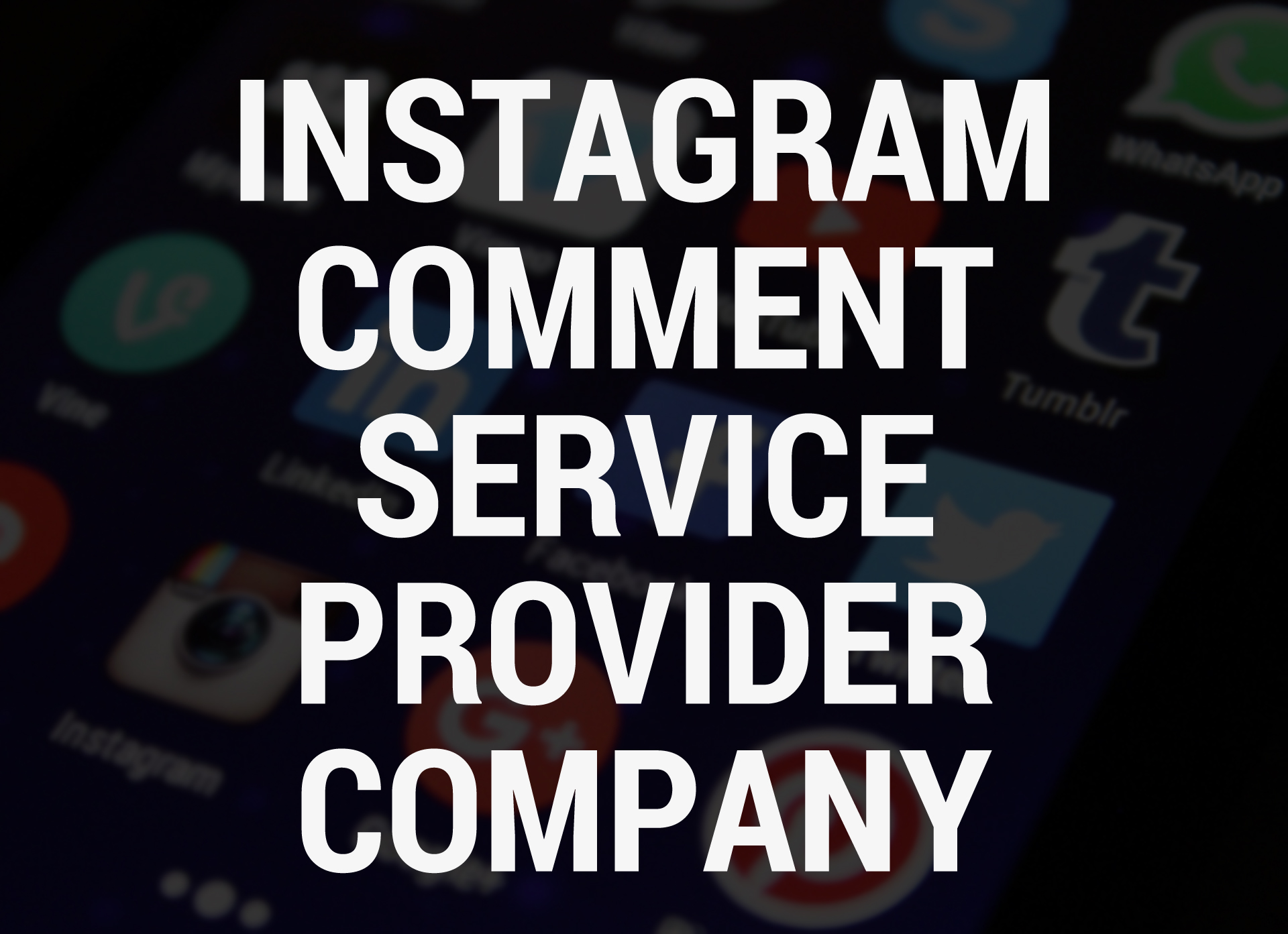 Instagram Comment Service