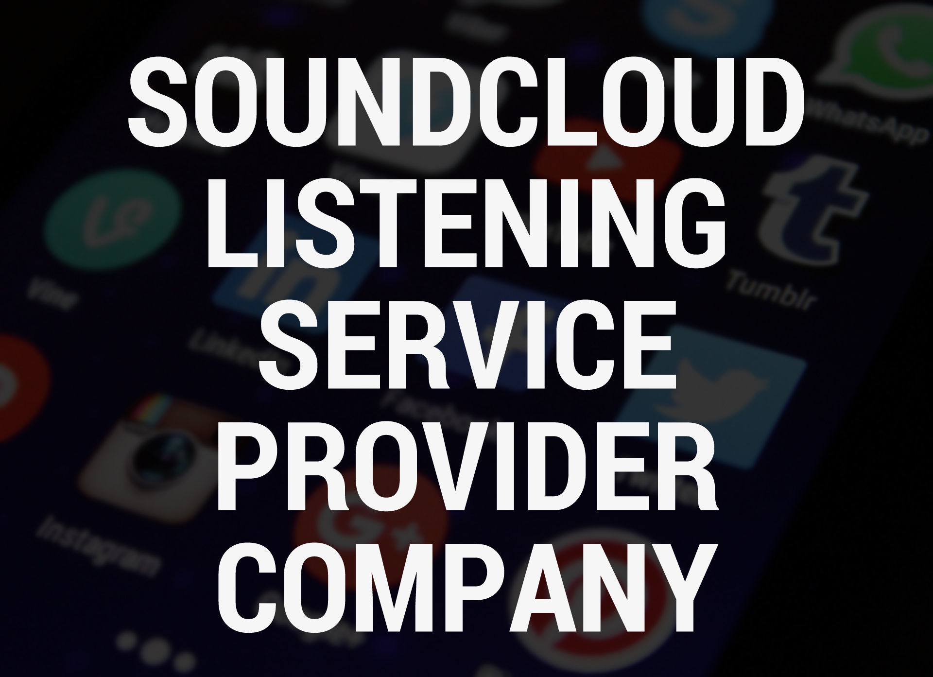 Soundcloud Listening Service